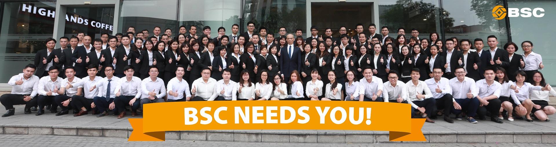 Việc làm tại Công ty Cổ phần Chứng khoán Ngân hàng đầu tư và Phát triển Việt Nam (BSC)