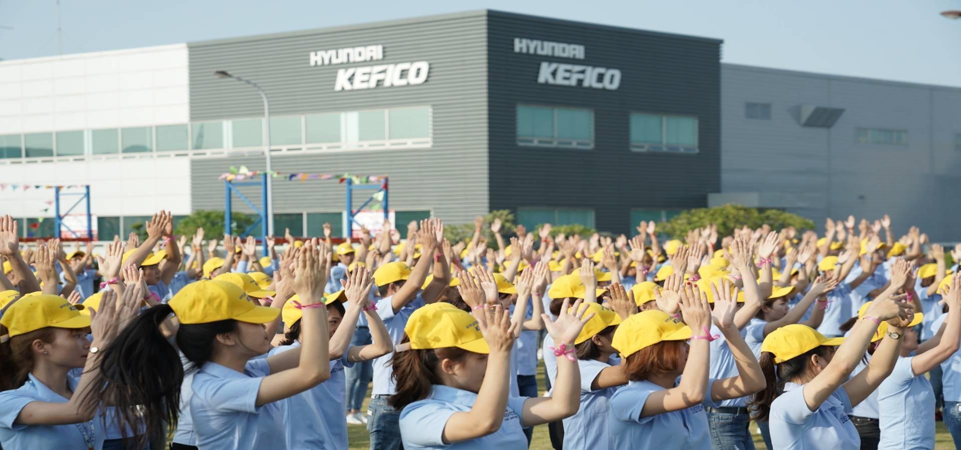 Việc làm tại Công ty TNHH Hyundai Kefico Việt Nam