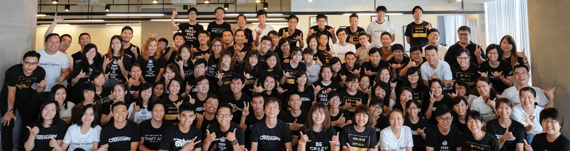 Open jobs at SHIFT ASIA