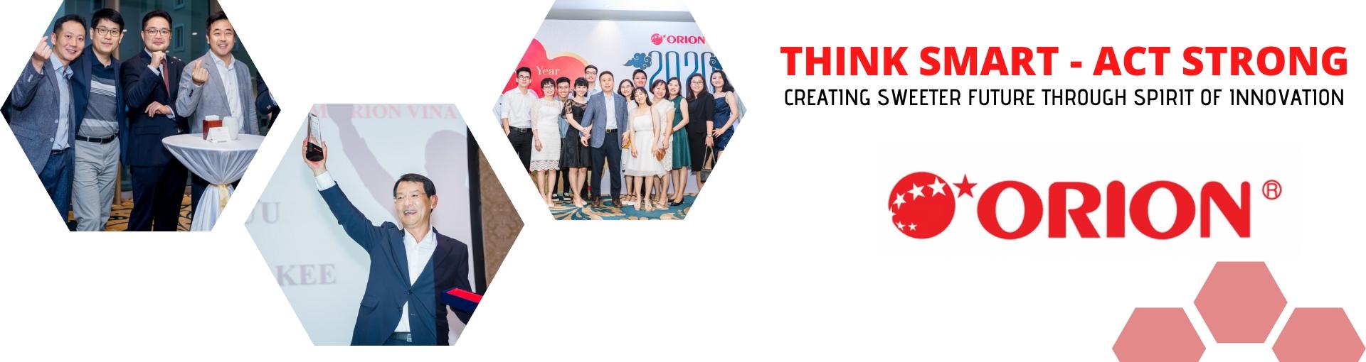 Việc làm tại Orion Food Vina., Ltd