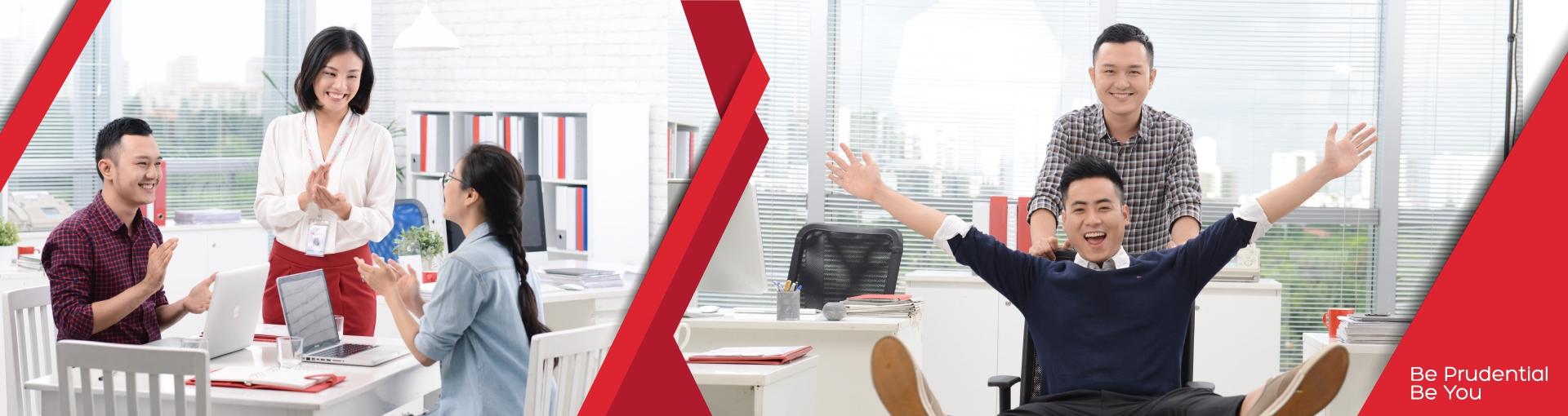 Open jobs at Prudential Vietnam Assurance